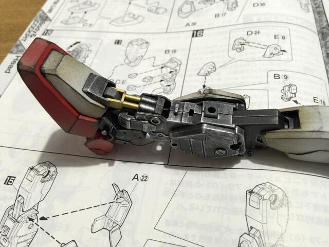 RX-79[G] 陸戦型ガンダム サンダース機 MG ウェザリング