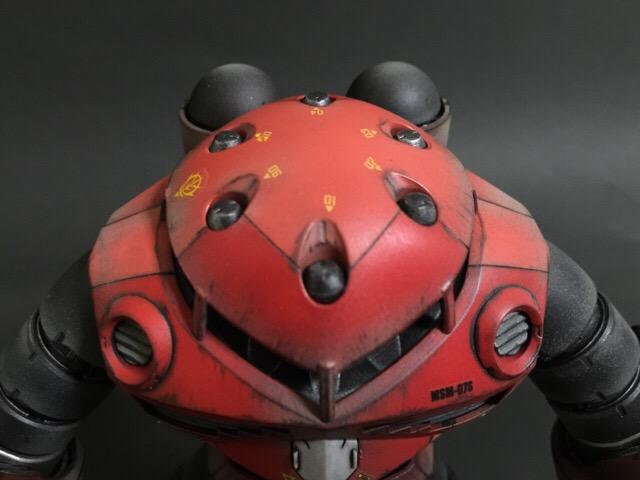 MSM 07S Z'GOK シャア専用ズゴック MG1/100 ウェザリング