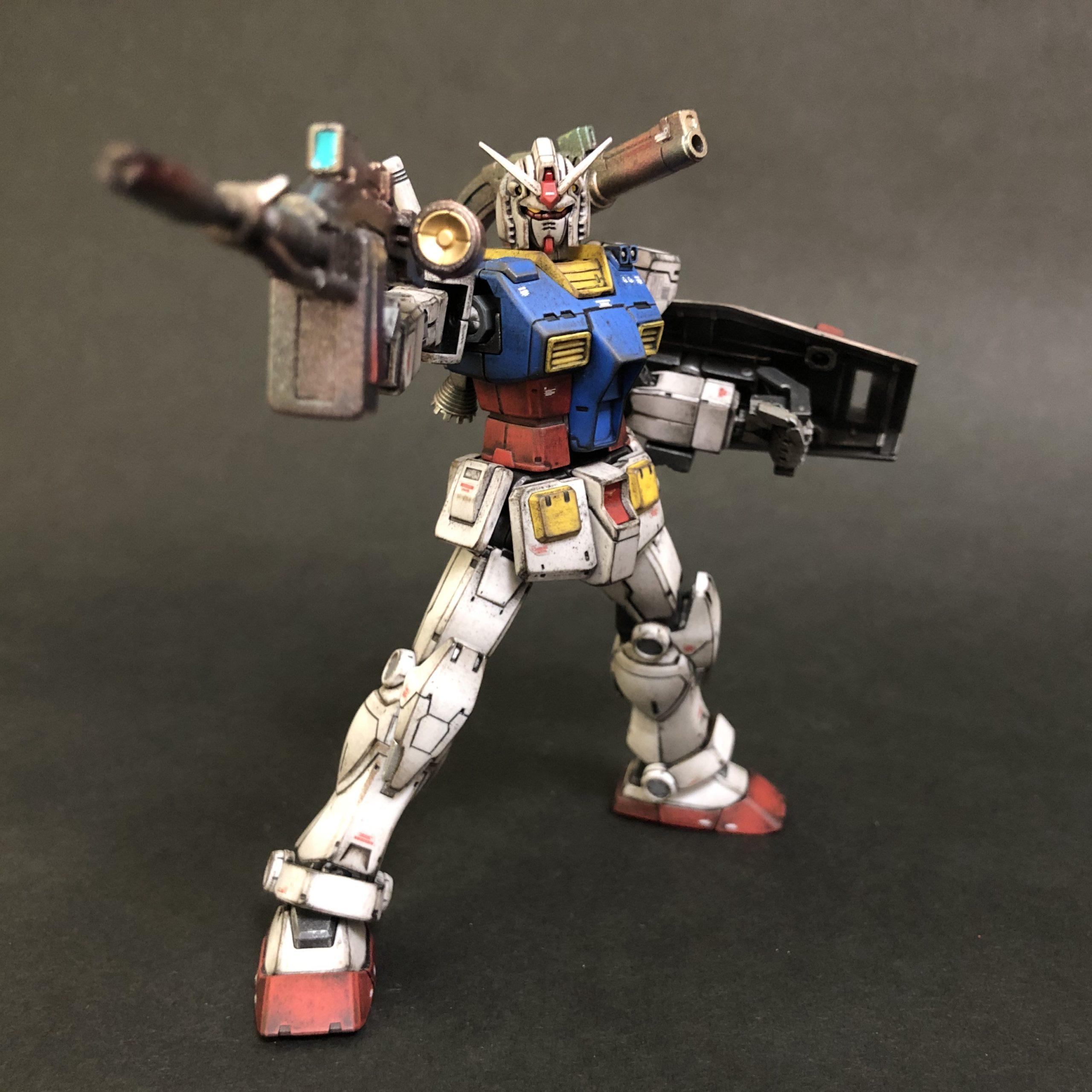 HG 1/144 RX-78-02 ガンダム