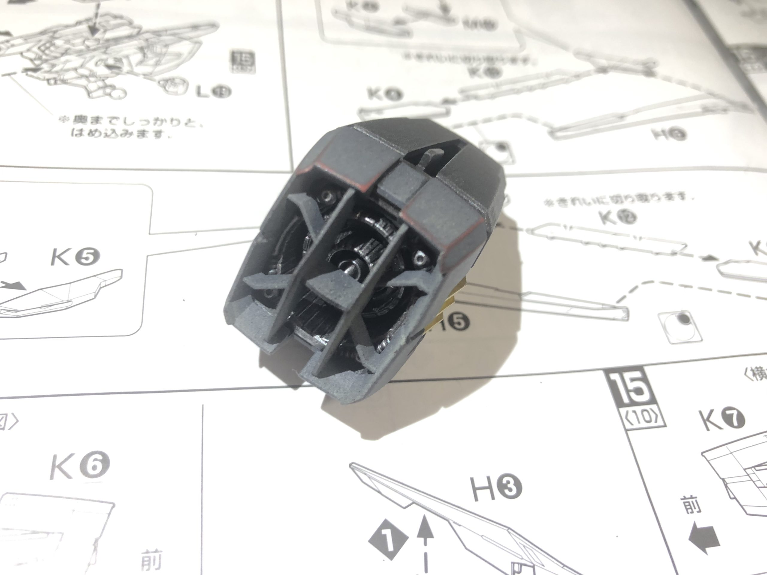 GAT-X105 AILE STRIKE GUNDAM ディアクティブモード1/100