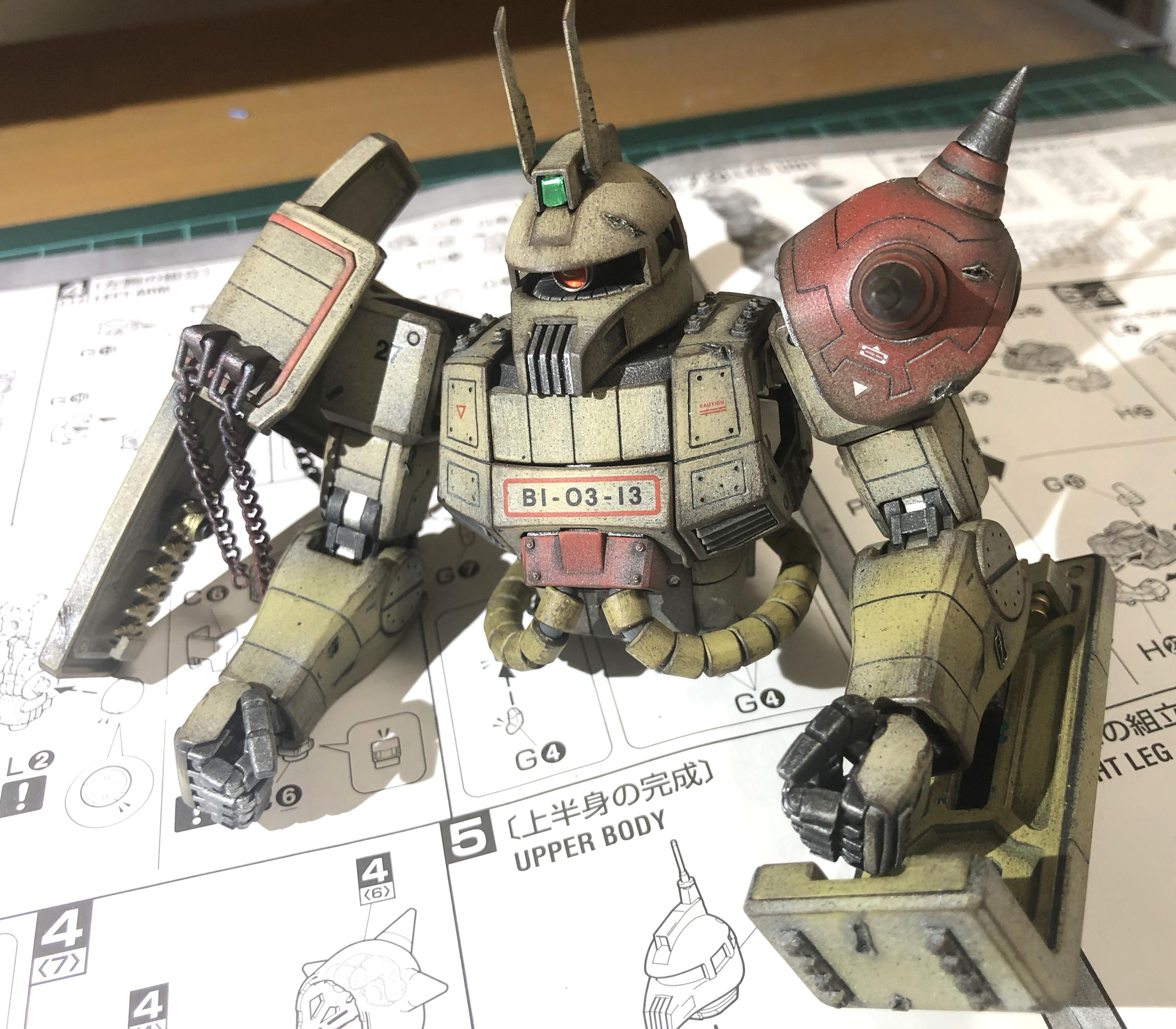 MG 1/100 MS-06K ザクキャノン